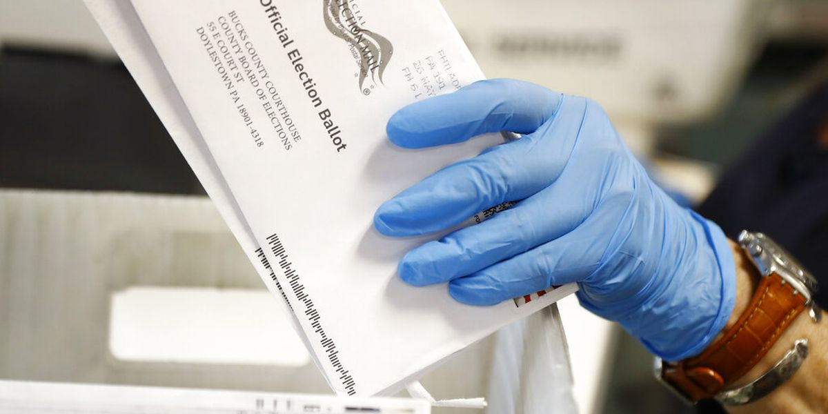 Battleground postal delays persist with mail voting underway