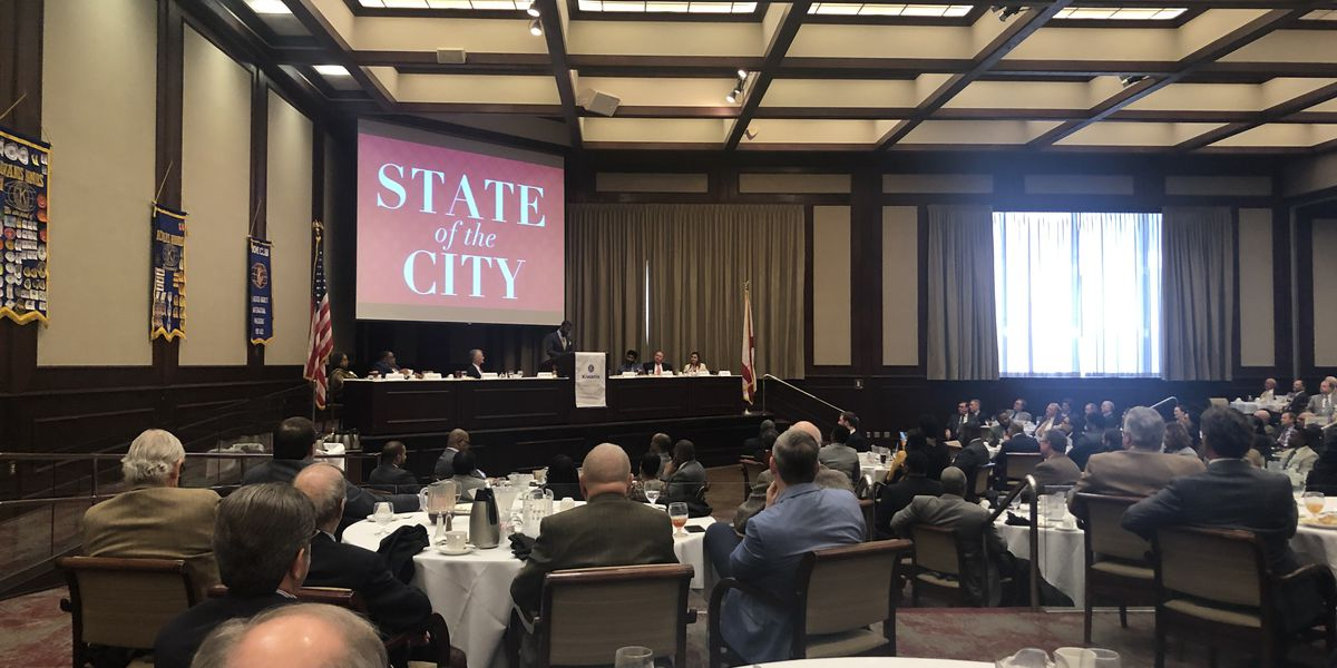 Birmingham Mayor Woodfin gives State of the City address