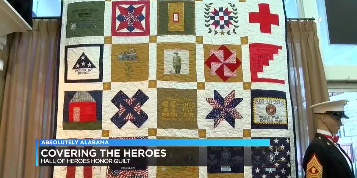 Hall of Heroes Honor Quilt
