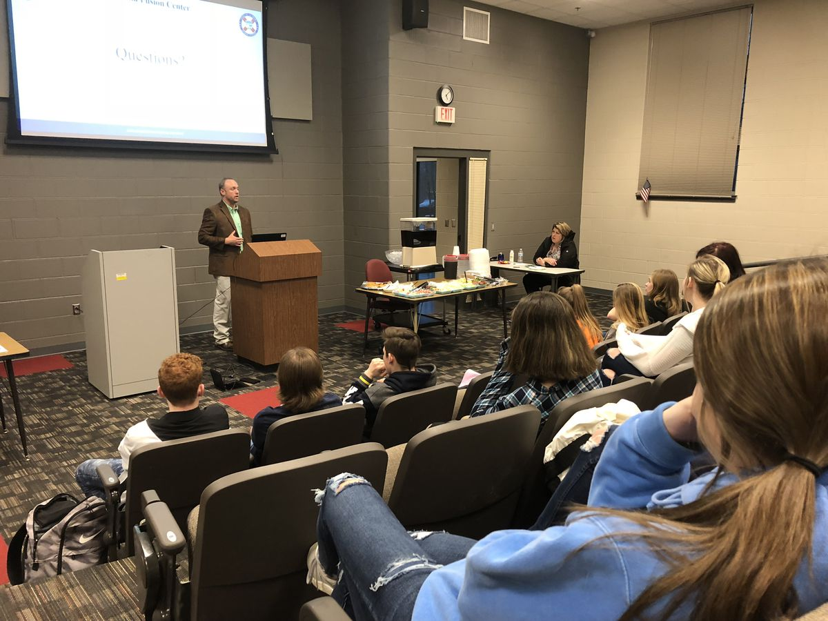 Brookwood High School students learn how to prevent 'rural crimes'