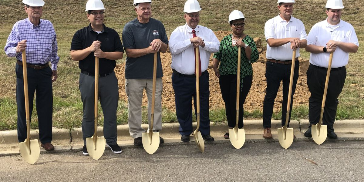 Groundbreaking for Hueytown storm shelter