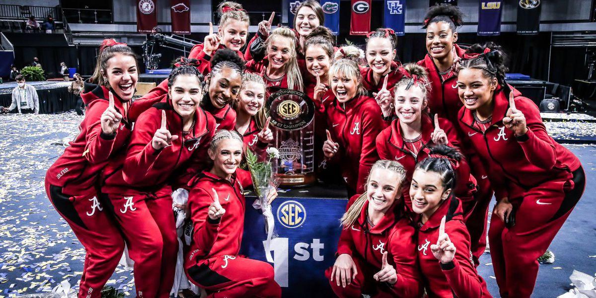 UA gymnastics wins SEC championship