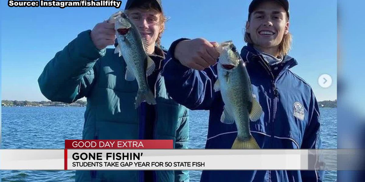 Students take gap year to fish in all 50 states