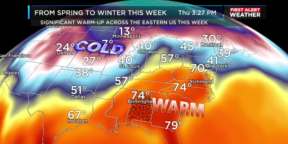 Matt says get ready for more spring-like weather this week