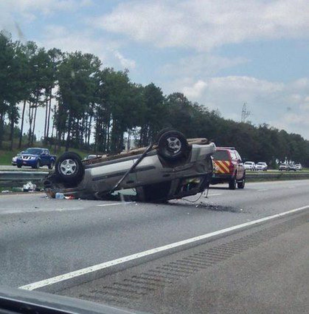 Traffic flowing again after wreck on I-65 northbound near