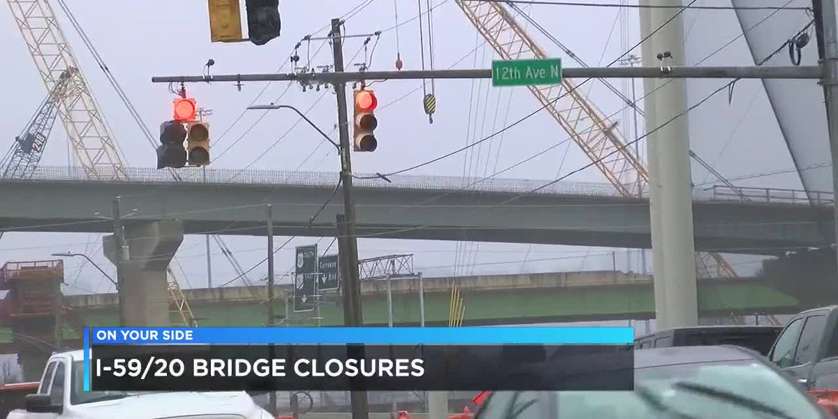 I-59/20 bridge closure impacting truckers on I-459