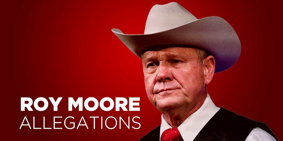 TIMELINE: The sexual misconduct allegations made against Roy Moore