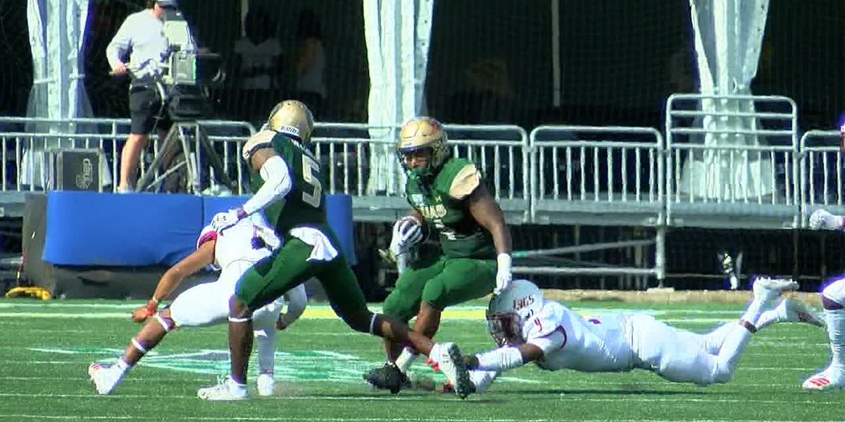 The UAB Blazers improve to 3-0 on the gridiron