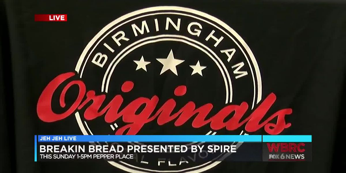 Breakin' Bread is this Sunday at Pepper Place