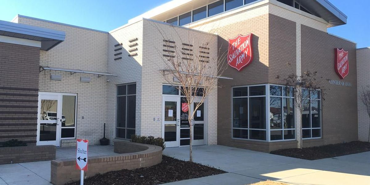 Tuscaloosa Salvation Army operating at capacity