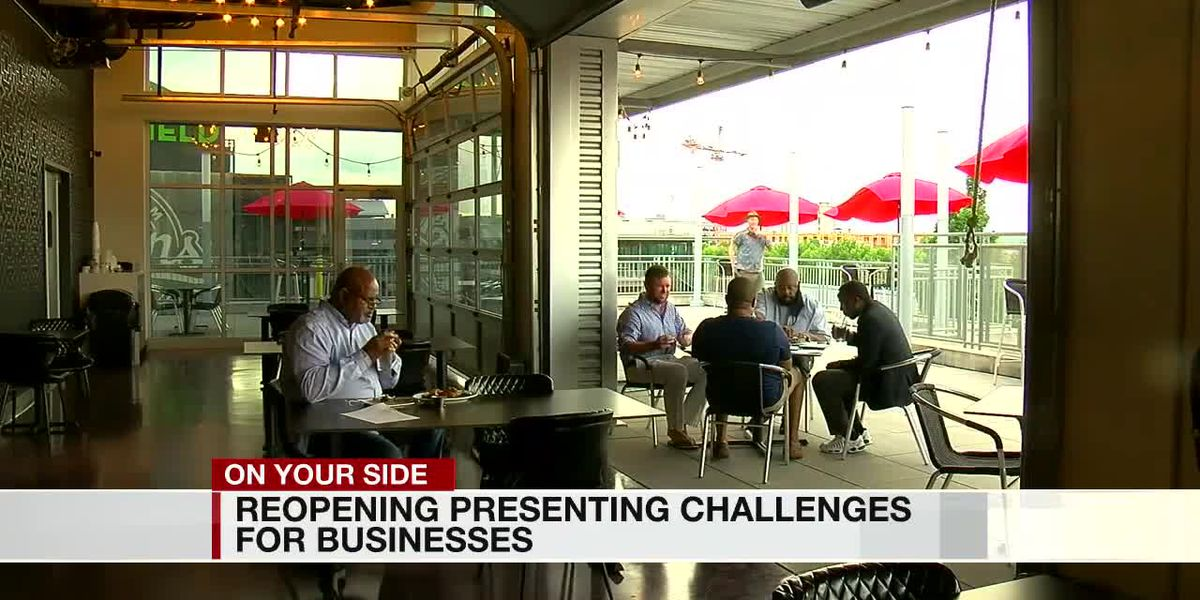 Reopening presenting challenges for businesses