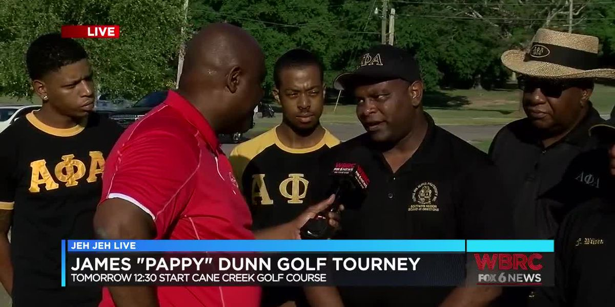 Golf tournament held in Anniston honoring first African American county commissioner