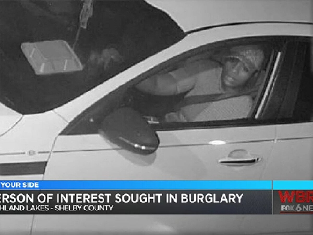 Shelby County Sheriff's office looking for person of interest in Highland Lakes burglary