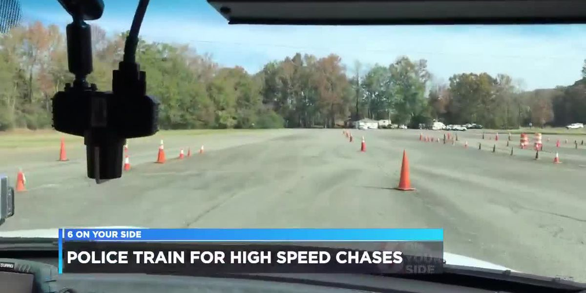 Police train for high-speed chases