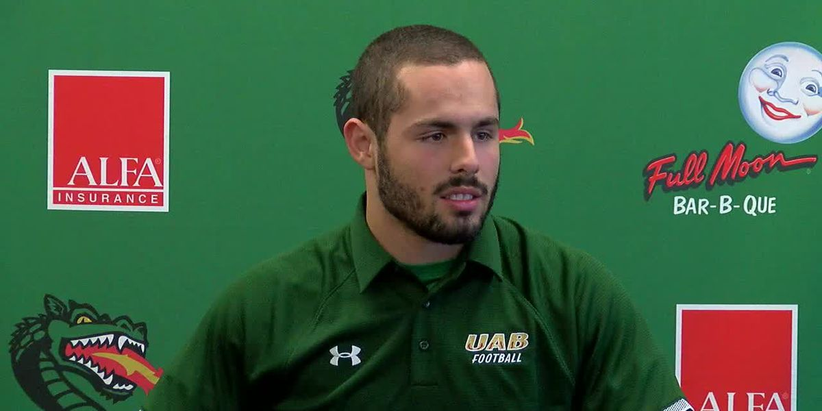 UAB kicker: 'Things happen for a reason'