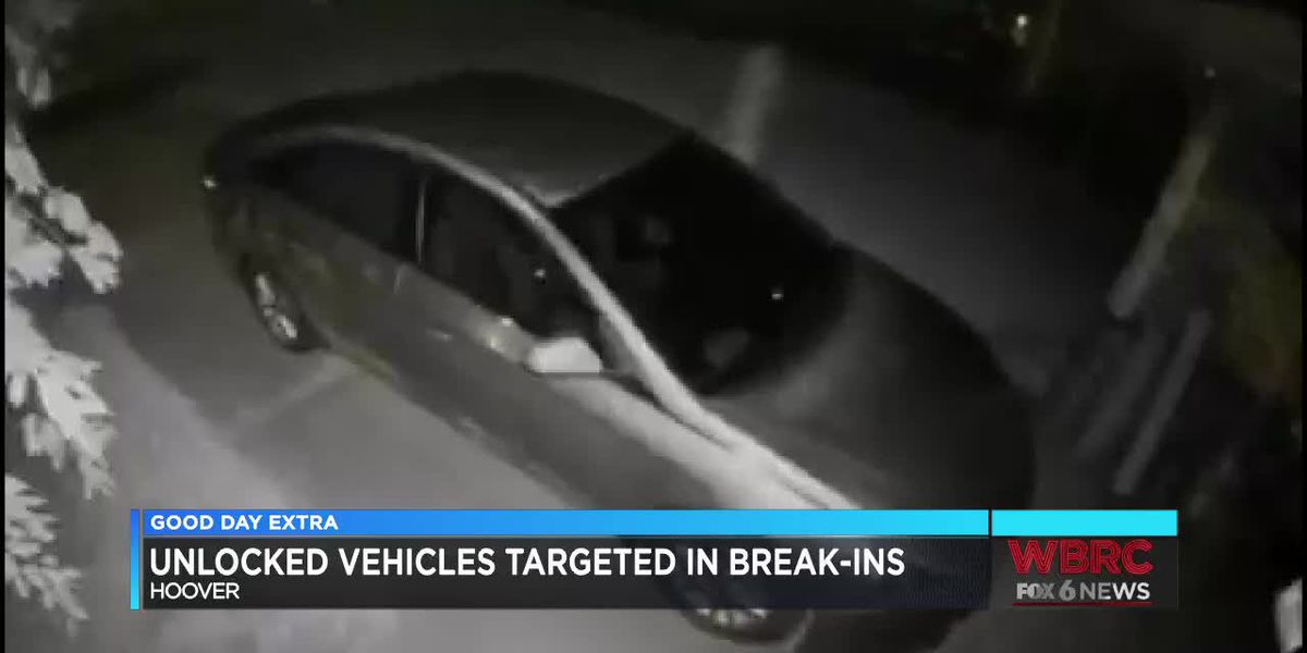 Hoover PD issues warning after reports of vehicle break-ins in Bluff Park