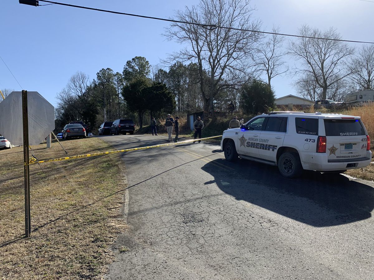 Federal Agents at home of Falkville man arrested in connection to U.S. Capitol violence