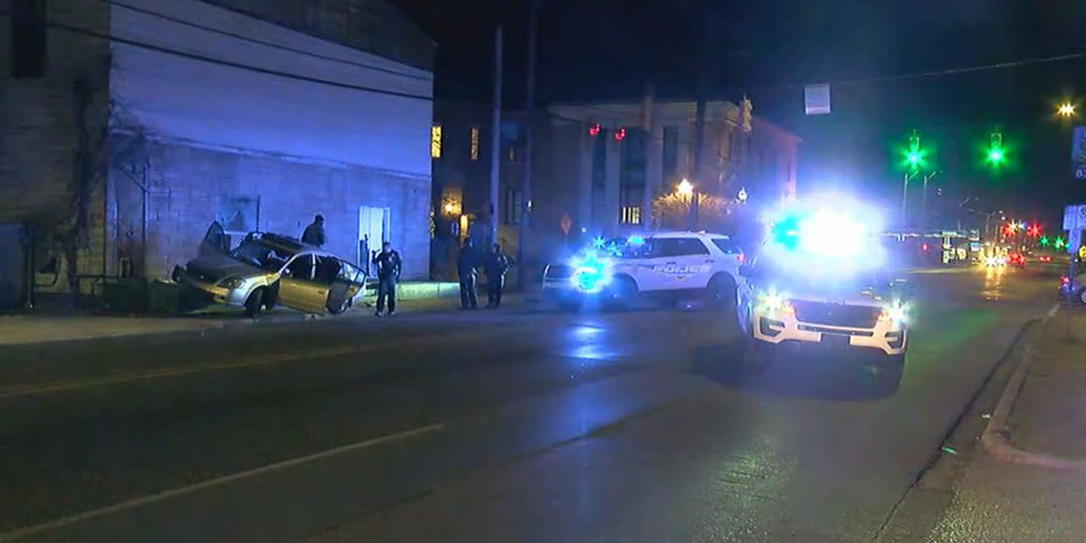 Three in custody after chase ends in east Birmingham
