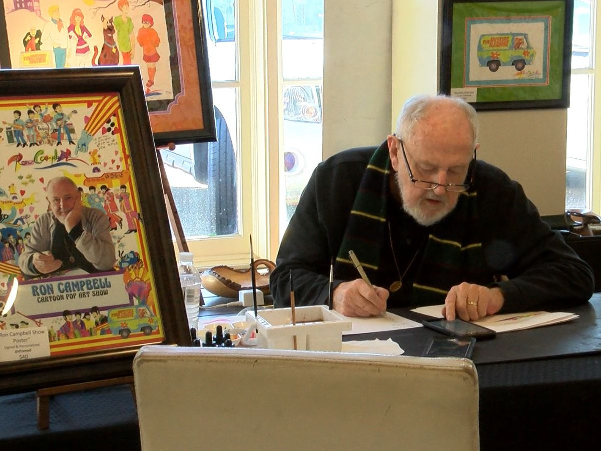 Cartoonist Ron Campbell dies at 81