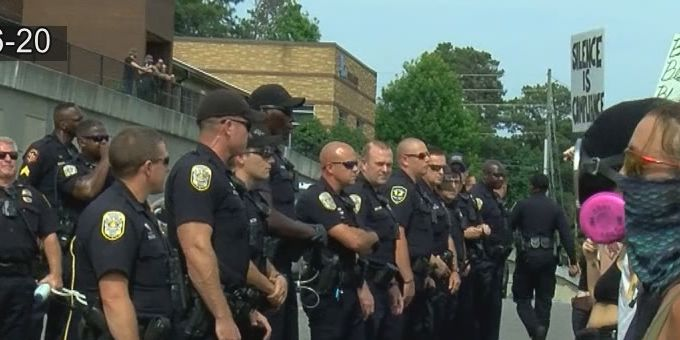 Local attorneys accuse the city of Hoover of mistreating peaceful protesters