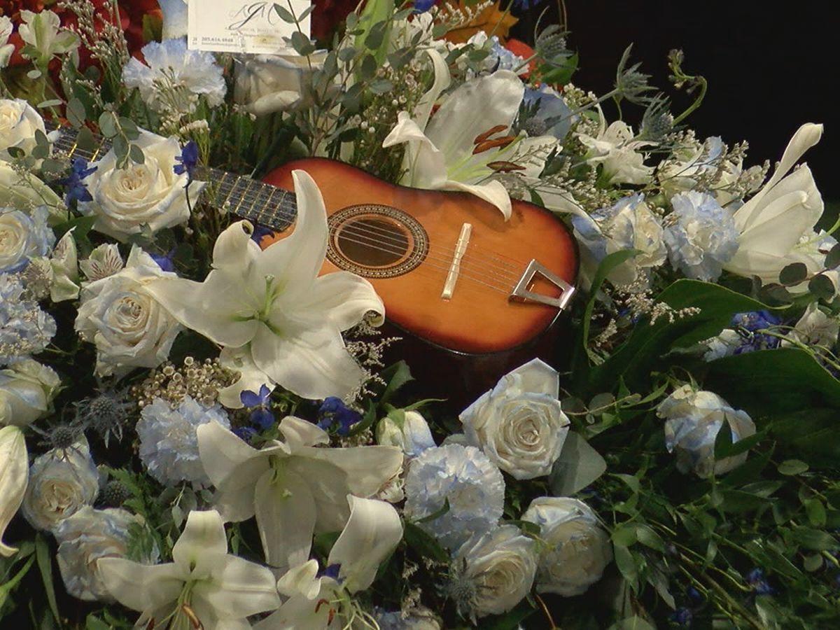 Family, friends say goodbye to legendary bluesman Henry Gipson