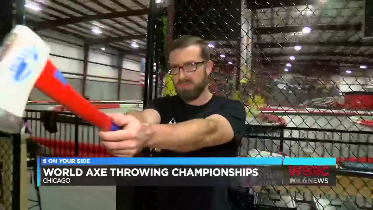 Birmingham resident competing in world ax throwing championship