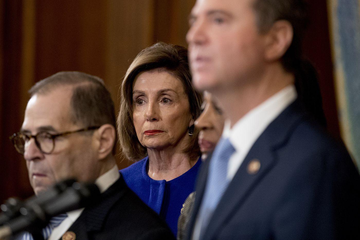'We must act;' Democrats unveil Trump impeachment charges