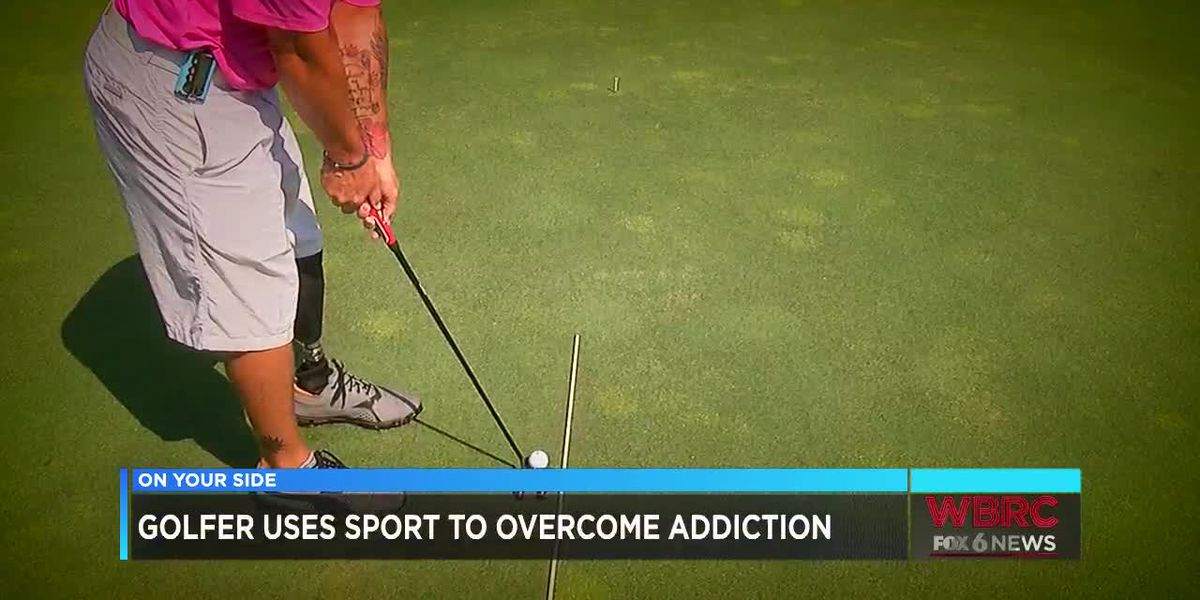 Golfer uses sport to overcome addiction