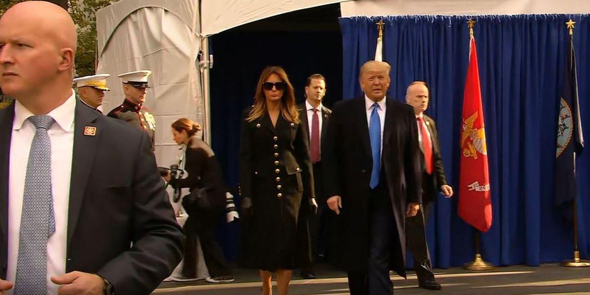 Trump kicks off Veterans Day tribute in NYC