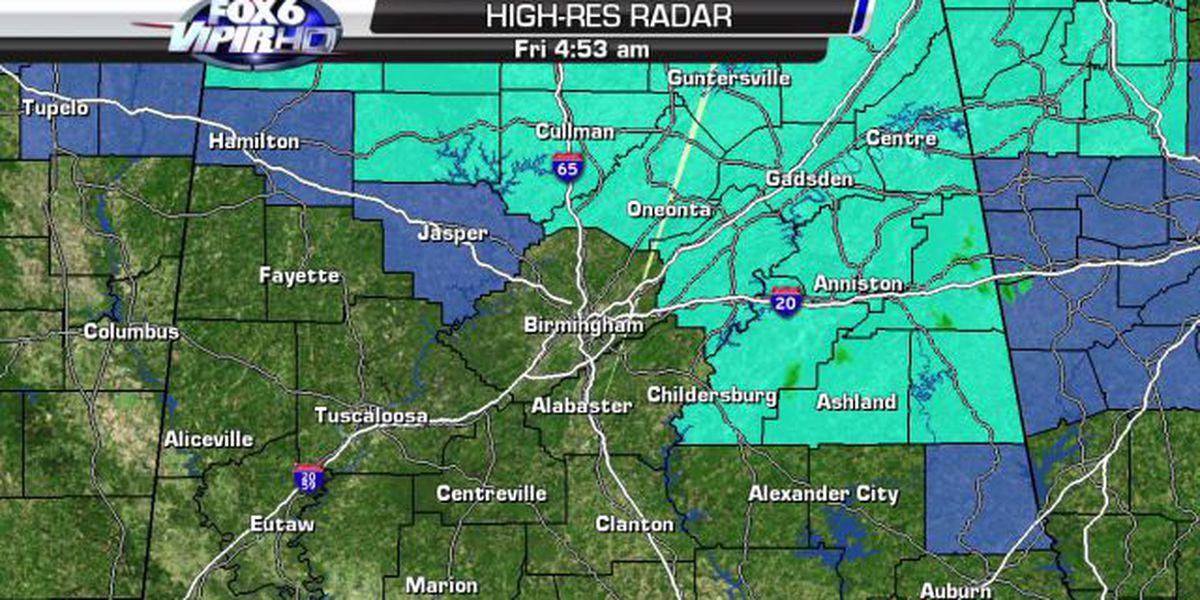 Freeze warning in effect overnight Friday in NE Alabama