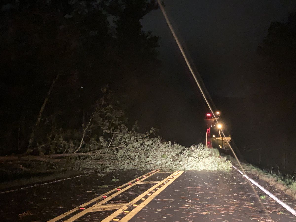 More than 270K without power as Zeta impacts Alabama