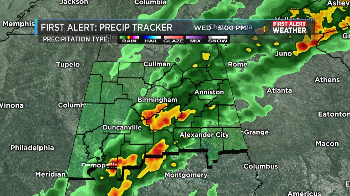 FIRST ALERT: Flood threat through end of week, severe storms possible Saturday