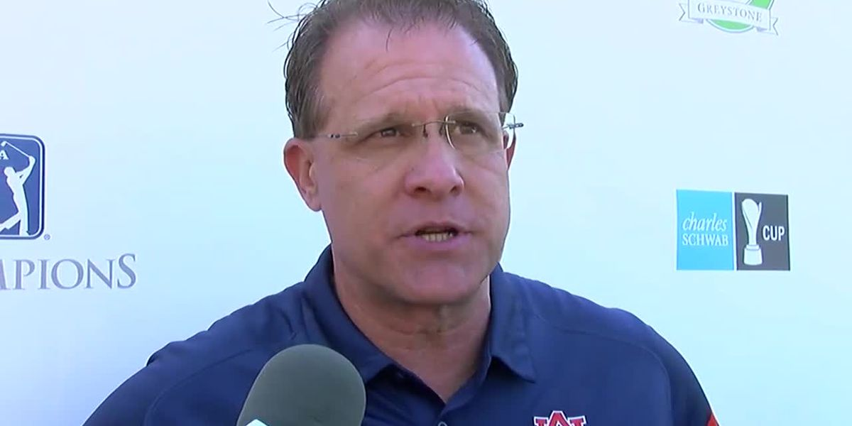 2019 Regions Tradition Pro-Am: Gus Malzahn