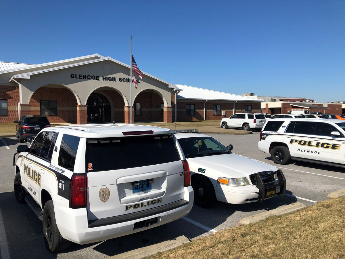 Active shooter drill held at Glencoe High School - WBRC