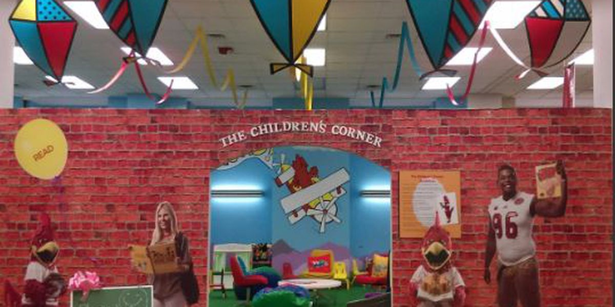 Children's Corner inside JSU library offers family fun for the community