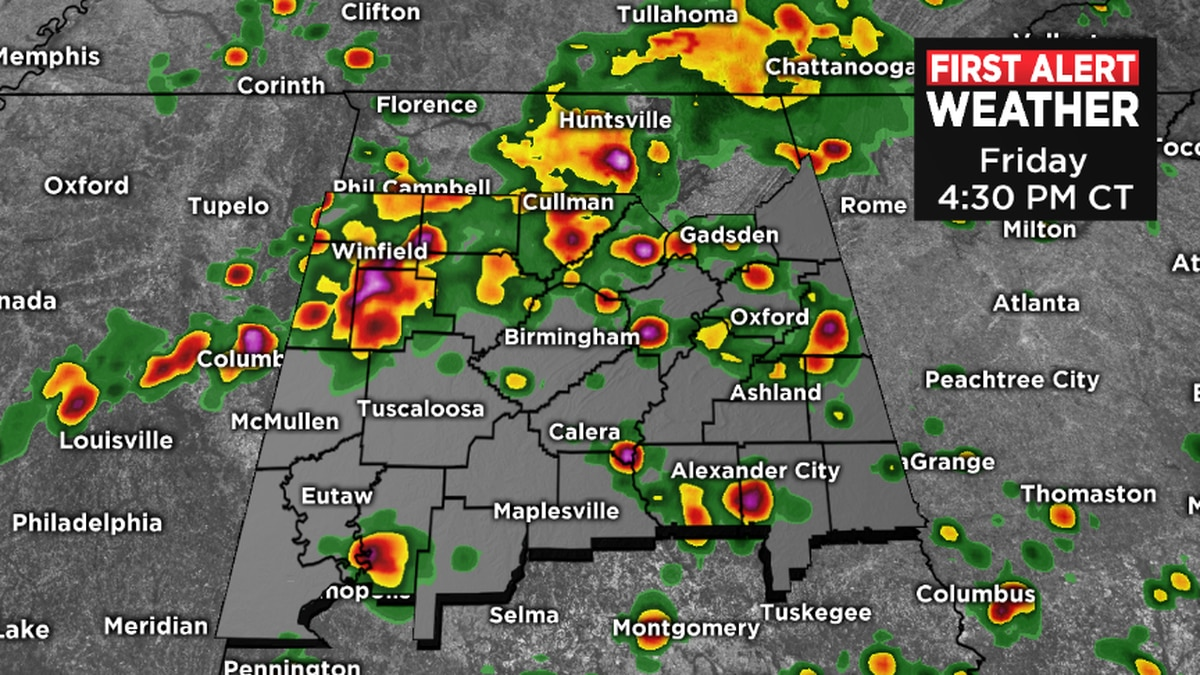 FIRST ALERT: Thunderstorm potential much higher Friday