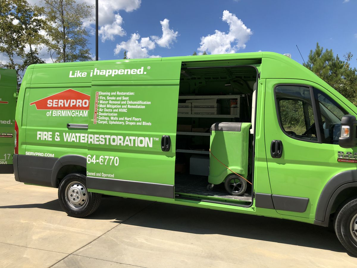 Servpro Of Birmingham: SERVPRO Birmingham Crews Deploy To North Carolina To Help