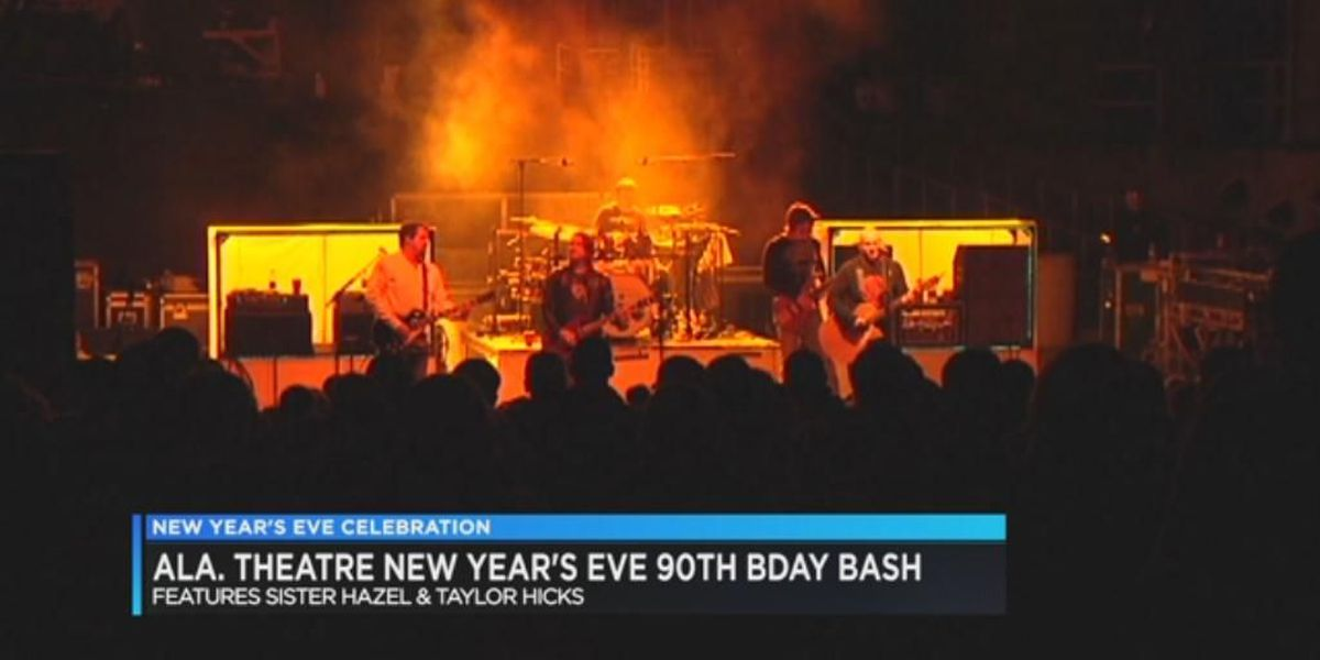 New Year's Eve at Alabama Theatre