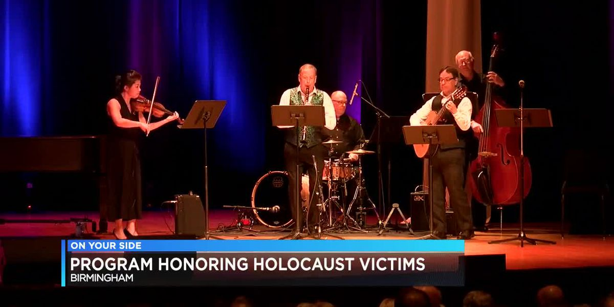 Program honoring holocaust victims