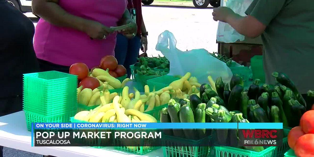 Pop up farmers markets start in Tuscaloosa