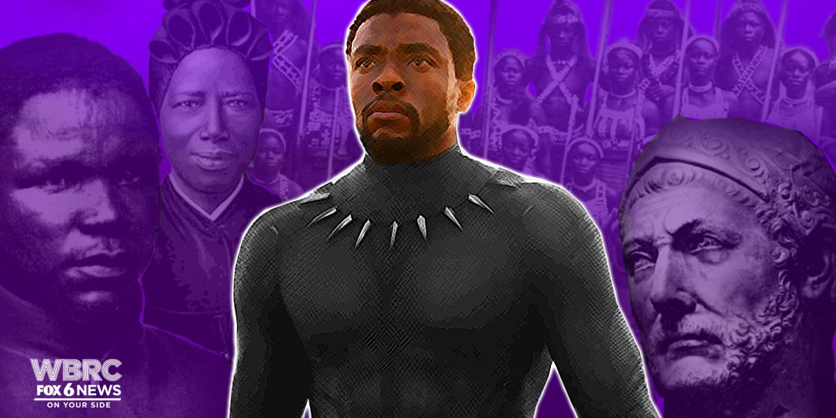 African heroes to research after you see Black Panther