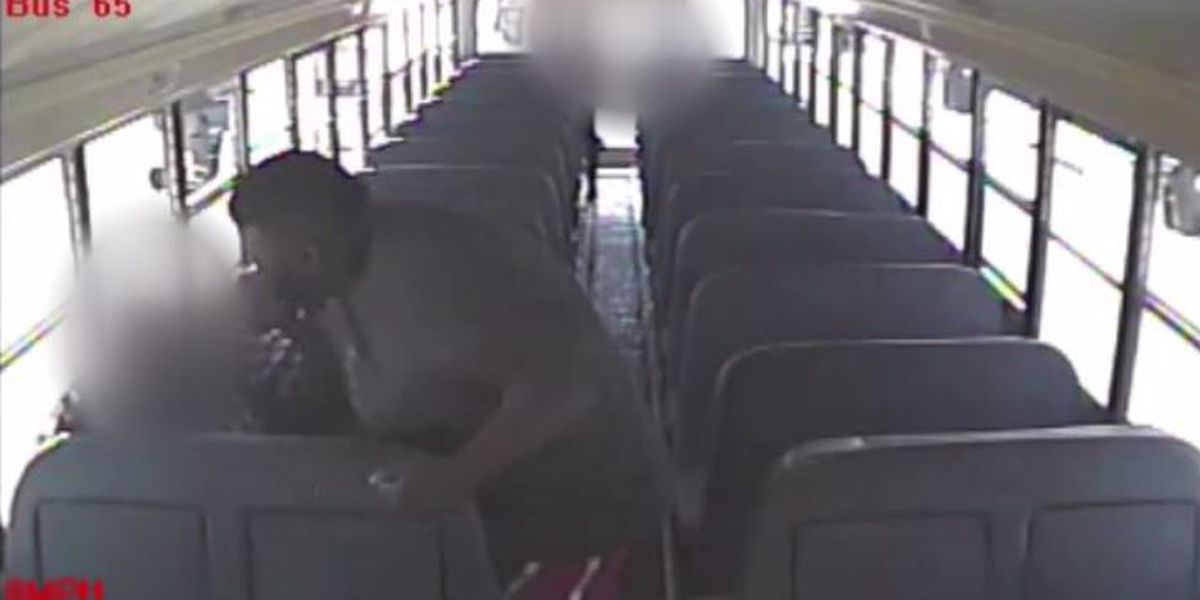 Video released of man attacking Tuscaloosa school bus aide