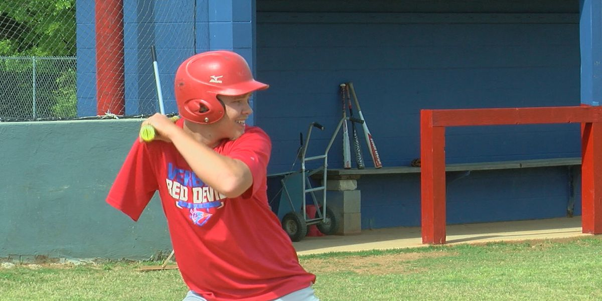 "Verbena High School's One-Armed Baseball Player ""Out of this League"""