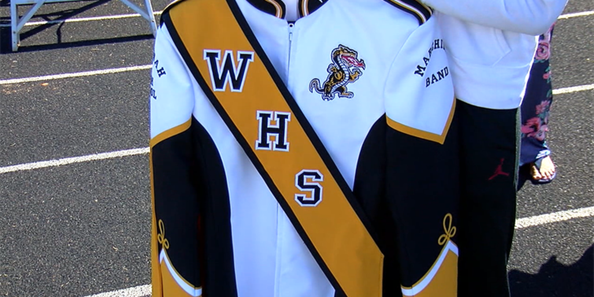 Wenonah High Marching Dragons getting new uniforms