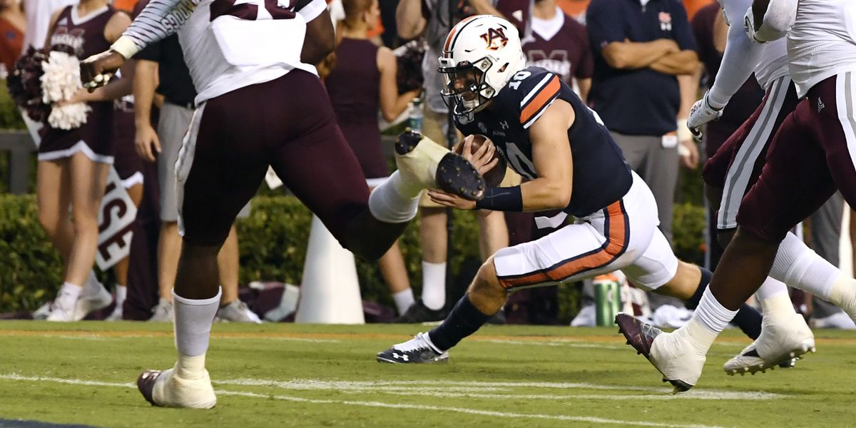 No. 7 Auburn throttles Mississippi State