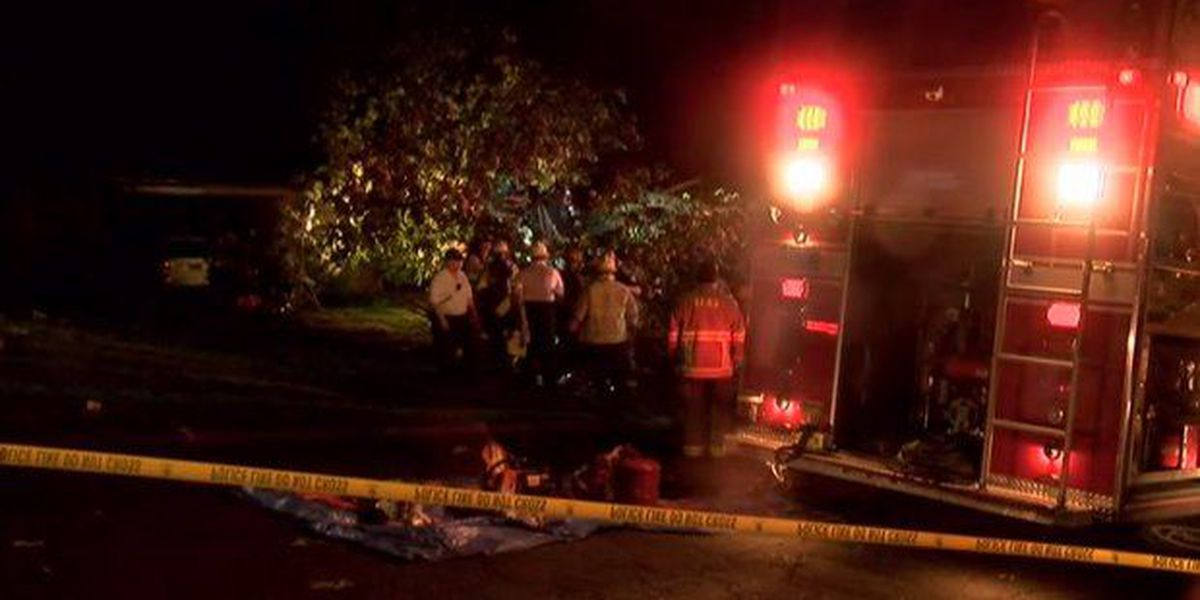Hear from Irondale's Assistant Fire Chief about the rescue of 5 children from a house hit by a fallen tree on GDA.