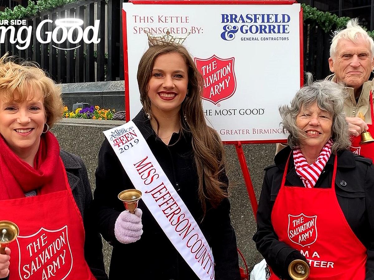 "Birmingham Optimists ""Doing Good"" as Salvation Army Bellringers"