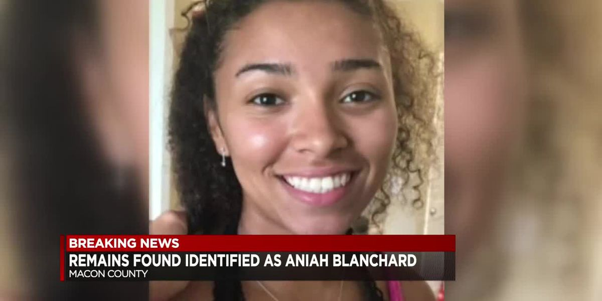Officials confirm Macon County remains as Aniah Blanchard