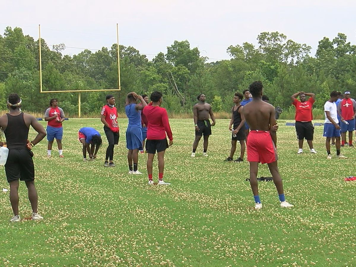 Center Point HS football returns to the practice field