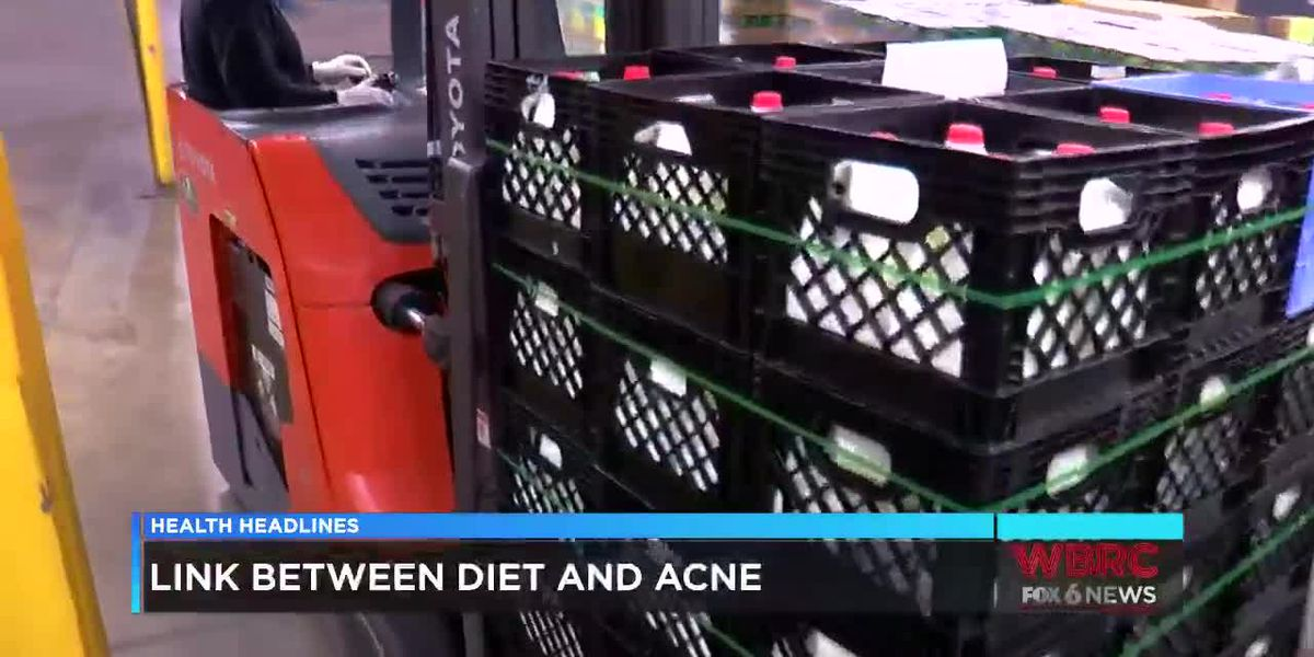 Is there a link between acne and your diet?
